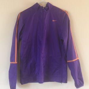 Nike golf windbreaker half zip jacket
